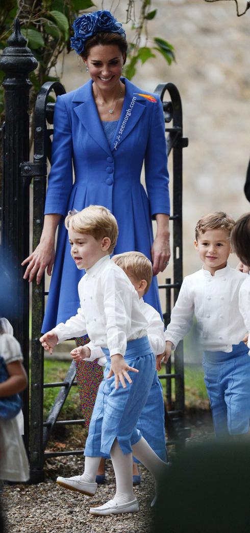 مدل لباس,مدل لباس کيت ميدلتون,مدل لباس کيت ميدلتون در مراسم عروسي Sophie Carter