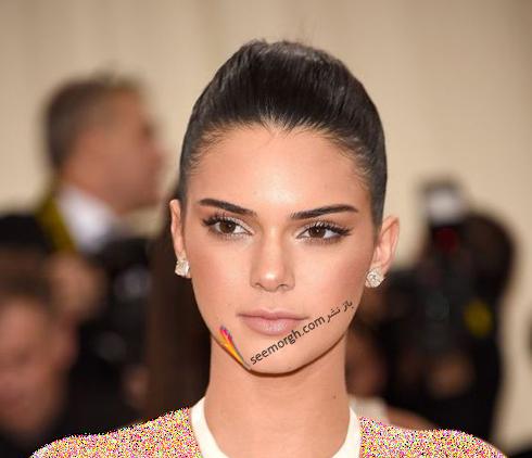 گوشواره,مدل گوشواره,مدل گوشواره مکعبی به سبک کندال جنر Kemdall Jenner