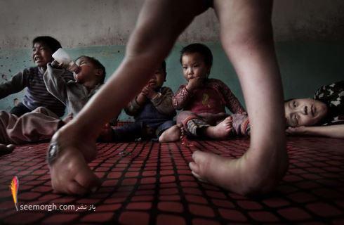 ,عکاسی,عکس های دردناک,ایدز,اچ آی وی,کودکان,Lu Guang