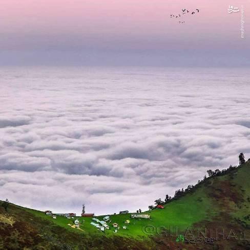 عکس زیبا از ارتفاعات ماسال