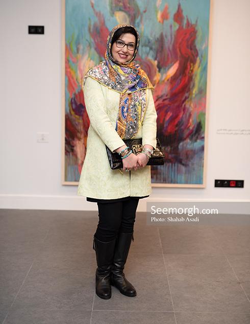 در جستجوی خود,افجه ای,احصایی,هنر معاصر,نمایشگاه هنری,معصومه کریمی