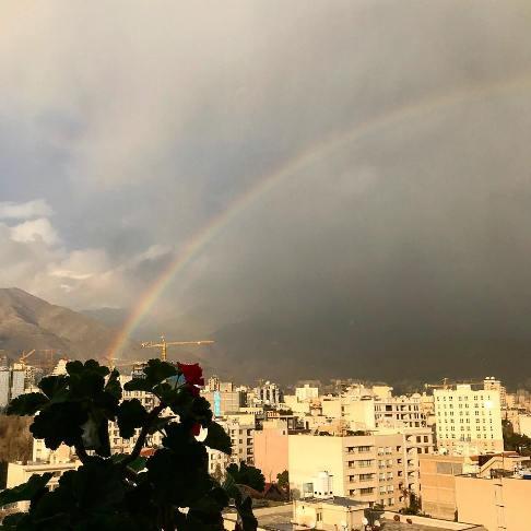 عکس منتشر شده توسط مهراوه شریفی نیا