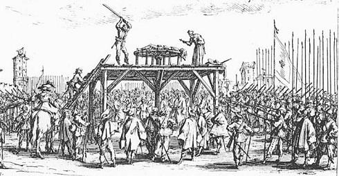 روش های اعدام,اعدام در گذشته,اعدام در طول تاریخ,اعدام