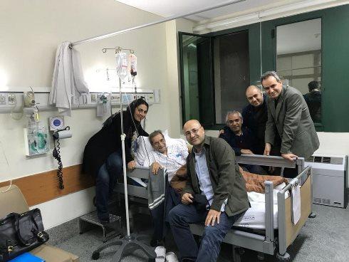حسین محباهری,بیمارستان,سرطان,پیوند,مریم کاظمی