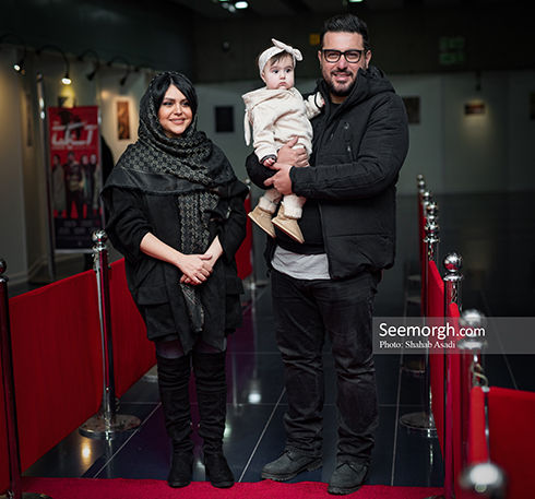 آستیگمات,فیلم آستیگمات,اکران آستیگمات,عکس های آستیگمات,محسن کیایی و همسرش