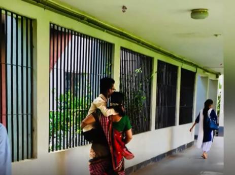 بردن فرزند معلول به دانشگاه
