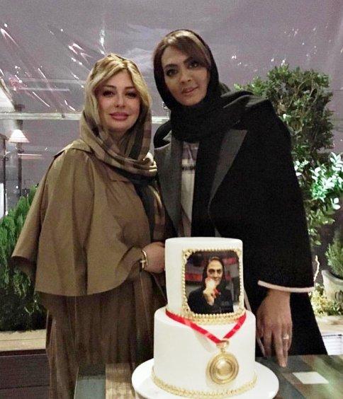نیوشا ضیغمی در جشن شهربانو منصوریان