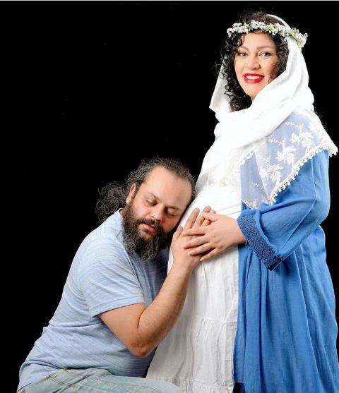 زیبا بروفه,بارداری زیبا بروفه,پیام صابری,مرگ پیام صابری,زیبا بروفه  و پیام صابری