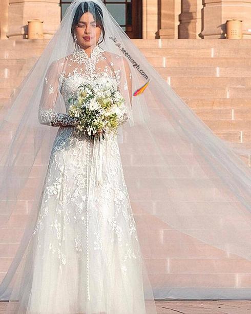 مراسم عروسی,مراسم عروسی پریانکا چوپرا,ازدواج,ازدواج پریانکا چوپرا,نیک جوناس,پریانکا چوپرا و نیک جوناس,لباس عروس پریانکا چوپرا Priyanka Chopra