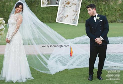 مراسم عروسی,مراسم عروسی پریانکا چوپرا,ازدواج,ازدواج پریانکا چوپرا,نیک جوناس,پریانکا چوپرا و نیک جوناس,لباس عروس پریانکا چوپرا Priyanka Chopra و نیک جوناس Nick Jonas