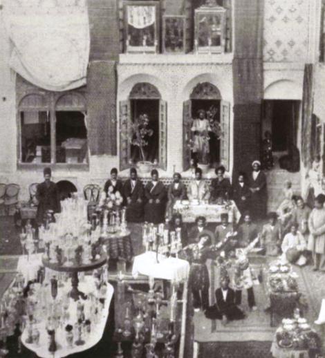 مراسم عروسی در زمان قاجار