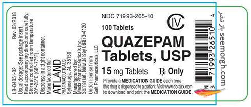 Quazepam,کوازپام