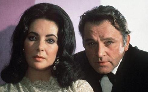 ریچارد برتون و الیزابت تیلور