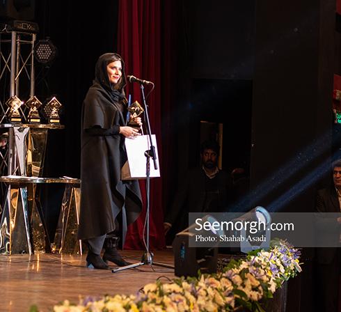 سحر دولتشاهی بهترین بازیگر مکمل زن در دوازدهمین جشن منتقدان سینمای ایران