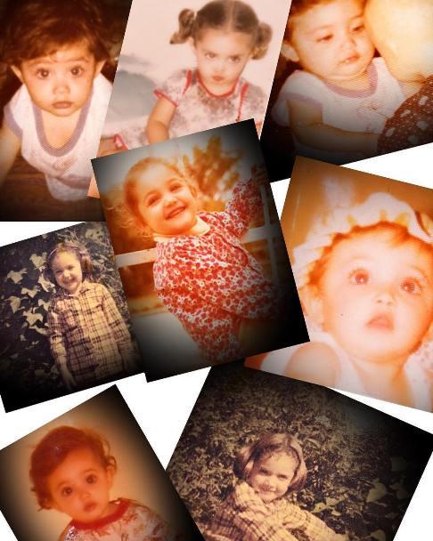 سارا منجزی در کودکی