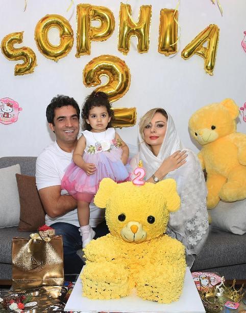 جشن تولد دختر یکتا ناصر و منوچهر هادی