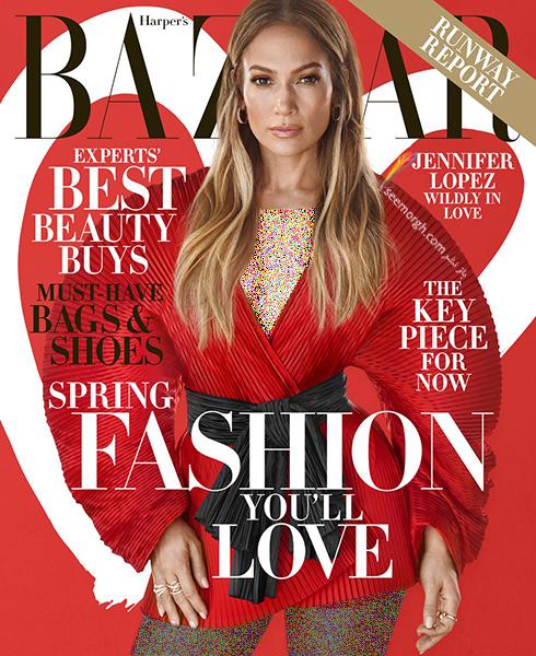 جنيفر لوپز,جديدترين عکس هاي جنيفر لوپز,عکس هاي جديد جنيفر لوپز,جديدترين عکس هاي جنيفر لوپز Jennifer Lopez روي مجله بازار HarpersBazaar - عکس شماره 5