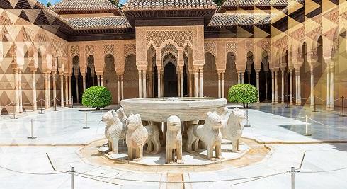 «قصر الحمرا» یکی از مقاصد برتر گردشگری اسپانیا