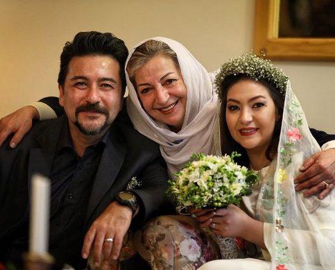 امیرحسین صدیق و همسرش باران خوش اندام