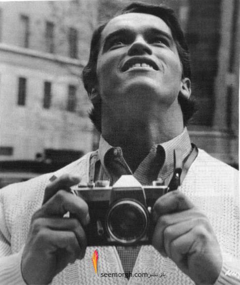 عکس قدیمی,عکس قدیمی بازیگر,عکس ستاره ها,عکس خیلی قدیمی,هالیوود,آرنولد شوارتزنگر