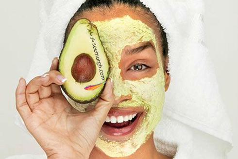 ماسک,ماسک صورت,ماسک خانگی,ماسک صورت خانگی,ماسک صورت آووکادو و عسل، شاداب کننده پوست صورت