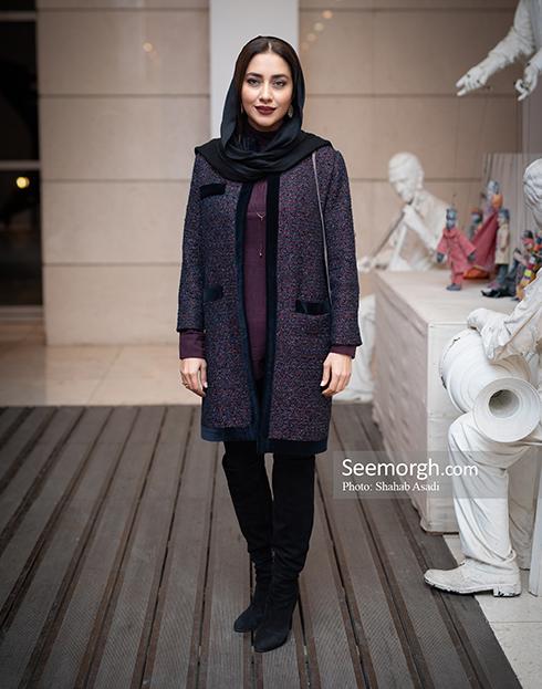 مدل مانتو,مدل مانتو در افتتاحیه جشنواره فیلم فجر,مدل مانتو در افتتاحیه جشنواره فجر 97 - بهاره کیان افشار