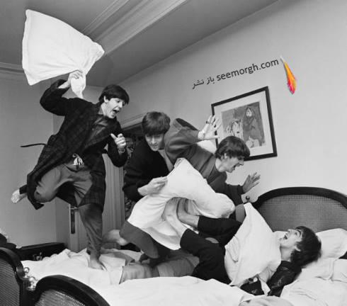 عکس قدیمی,عکس قدیمی بازیگر,عکس ستاره ها,عکس خیلی قدیمی,هالیوود,گروه بیتلز