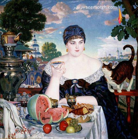 بوریس کوستودیف,نقاشی,نقاشی مشهور,Boris Kustodiev