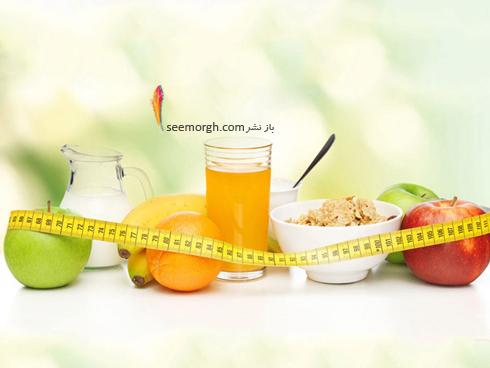 رژیم لاغری,رژیم لاغری 7 روزه,هفتمین روز رژیم لاغری : آب میوه و سبزیجات