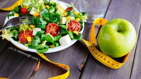 رژیم لاغری, رژیم لاغری 7 روزه,سومین روز رژیم لاغری : با میوهها و سبزیجات پوستی سالم داشته باشید