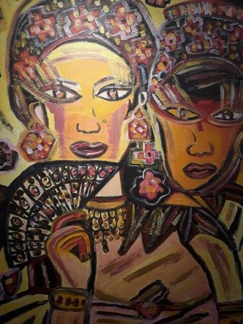 الهام مقتدایی,نمایشگاه نقاشی,گالری نقاشی,اثار نقاشی الهام مقتدایی,بازیچه خیال,نمایشگاه بازیچه خیال