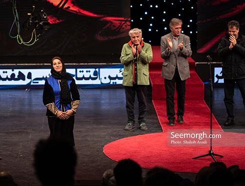 فاطمه معتمدآریا,بزرگداشت فاطمه معتمدآریا,رضا کیانیان در جشنواره فجر