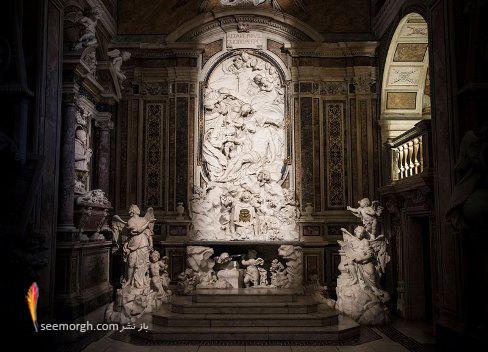 کلیسا,مجسه سازی,مجسمه مرمر,مجسمه مسیح,Cappella Sansevero