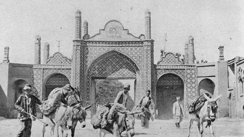 دروازه تهران شهر قزوین,ایران قدیم