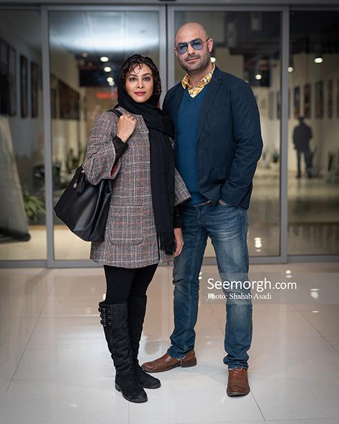 کوتاه مثل زندگی,اکران,فیلم,بازیگران,پردیس باغ کتاب,حدیثه تهرانی و همسرش