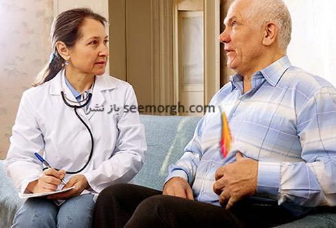 پزشک و بیمار