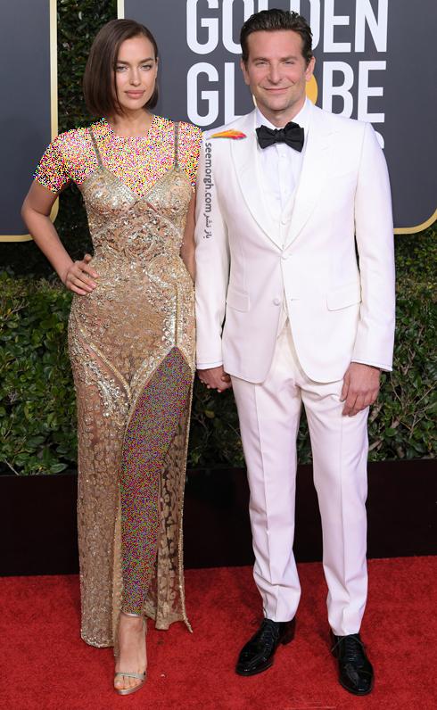 مدل لباس,مدل لباس در گلدن گلوب 2019,بهترين مدل لباس,بهترين مدل لباس در گلدن گلوب 2019,مدل لباس هاي برتر در گلدن گلوب 2019 Golden Globes - ايرينا شايک Irina Shayk