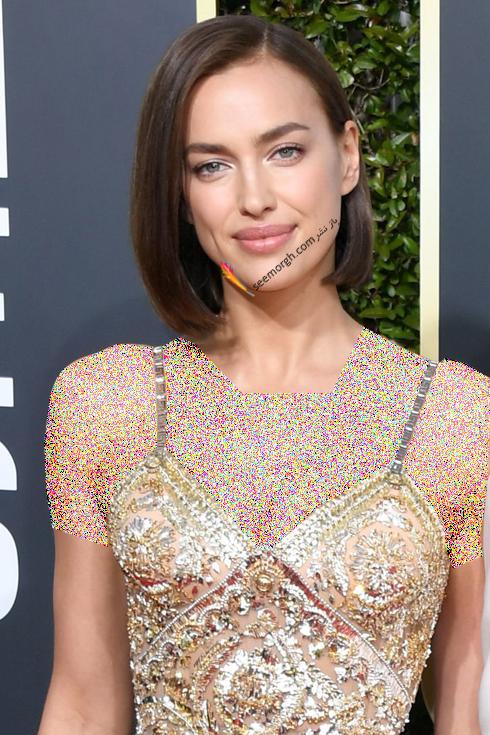 مدل مو,بهترين مدل مو,مدل مو در گلدن گلوب,بهترين مدل مو در گلدن گوب,مدل مو هاي برتر در گلدن گلوب 2019 Golden Globes - ايرينا شايک Irina Shayk