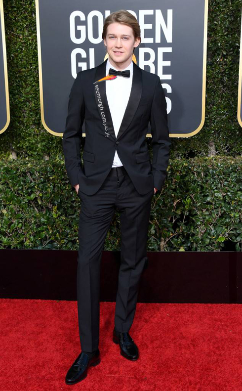 کت و شلوار,مدل کت و شلوار,يهترين مدل کت و شلوار,مدل کت و شلوار در گلدن گلوب,بهترين مدل کت و شلوار در گلدن گلوب 2019 - جو آلوين Joe Alwyn