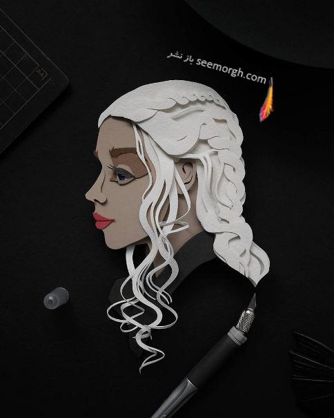 خلاقیت,هنرنمایی با کاغذ,ستاره ها,کاغذ و قیچی,John Ed De Vera