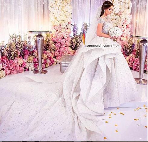مراسم عروسی,گرانقیمت ترین مراسم عروسی روسیه,مراسم عروسی ثروتمندترین پسر روسیه,لباس عروس طراحی شده توسط Zuhir Murad