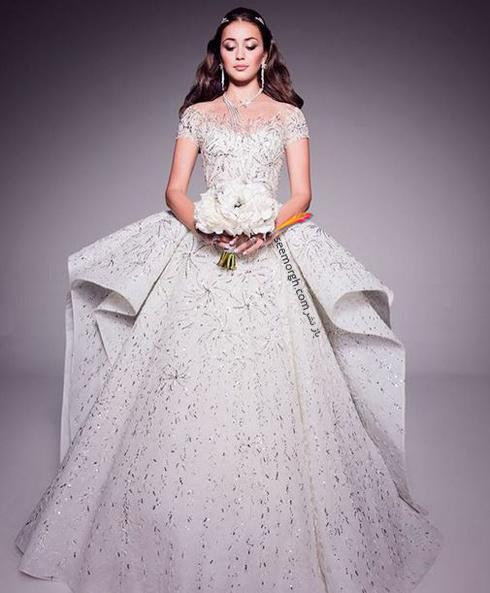 مراسم عروسی,گرانقیمت ترین مراسم عروسی روسیه,مراسم عروسی ثروتمندترین پسر روسیه,لباس عروس گران قیمت طراحی شده توسط Zuhir Murad