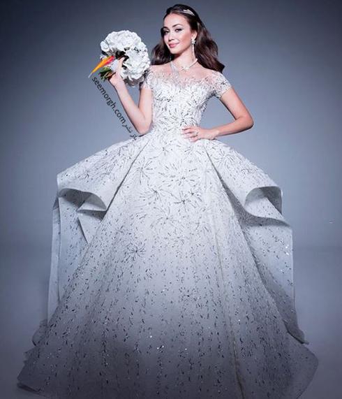 مراسم عروسی,گرانقیمت ترین مراسم عروسی روسیه,مراسم عروسی ثروتمندترین پسر روسیه,لباس عروس مجلل طراحی شده توسط Zuhir Murad