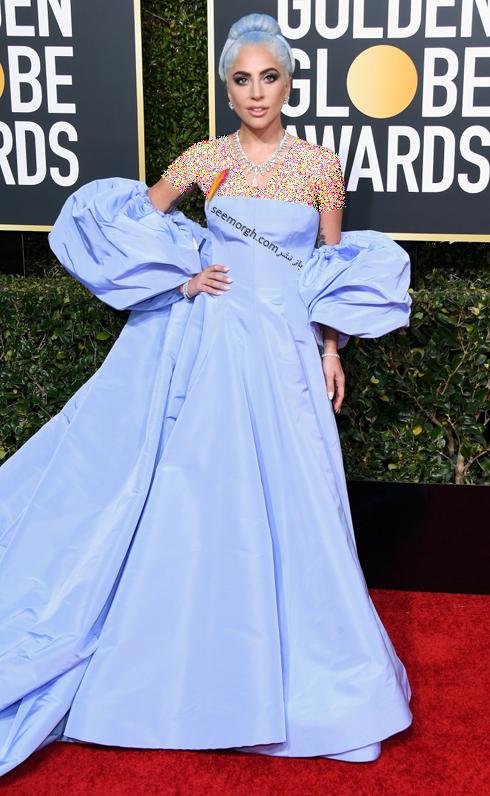 مدل لباس,مدل لباس در گلدن گلوب 2019,بهترين مدل لباس,بهترين مدل لباس در گلدن گلوب 2019,مدل لباس هاي برتر در گلدن گلوب 2019 Golden Globes - ليدي گاگا Lady Gaga