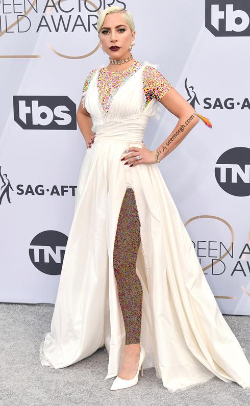 مدل لباس,بهترين مدل لباس,بهترين مدل لباس در SAG Awards 2019 - ليدي گاگا Lady Gaga