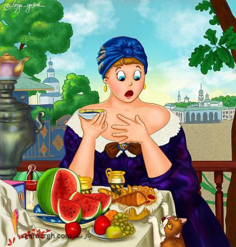 گربه شکست خورده, Lesya Guseva
