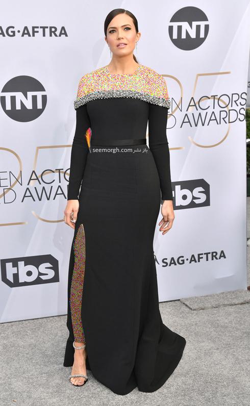 مدل لباس,بهترين مدل لباس,بهترين مدل لباس در SAG Awards 2019 - مندي مور Mandy Moore