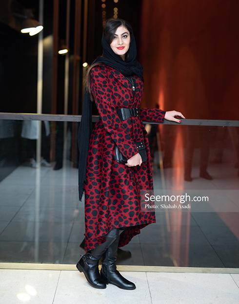 مدل مانتو,مدل مانتو در افتتاحيه جشنواره فيلم فجر,مدل مانتو در افتتاحيه جشنواره فجر 97 - مريم مومني