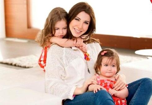 نانسی عجرم nancy ajram و فرزندانش