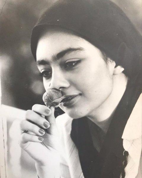 عکس یکتا ناصر در دوران نوجوانی